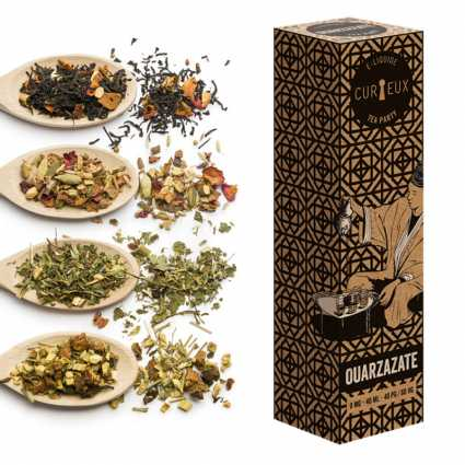 Eliquide Ouarzazate | Curieux Tea Party 60ml