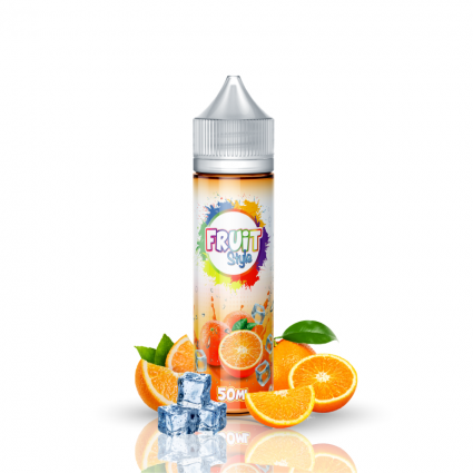 E-liquide Orange 50ml boostable | Fruit Style